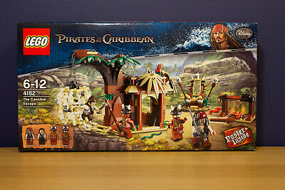 £82.99 • Buy LEGO Pirates Of The Caribbean 4182 - The Cannibal Escape - Brand New & Sealed