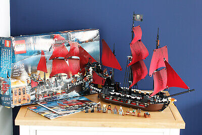 £329.99 • Buy LEGO Pirates Of The Caribbean 4195 - Queen Anne's Revenge - 100% Complete