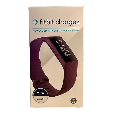 AU49 • Buy Fitbit Charge 4 (Rosewood) Fitness Tracker- Heart Rate Monitor, SpO2, GPS, Sleep