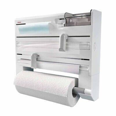 £19.99 • Buy Leifheit Parat Kitchen Roll Dispenser, Wall-Mounted Film, Foil And Paper Holder,