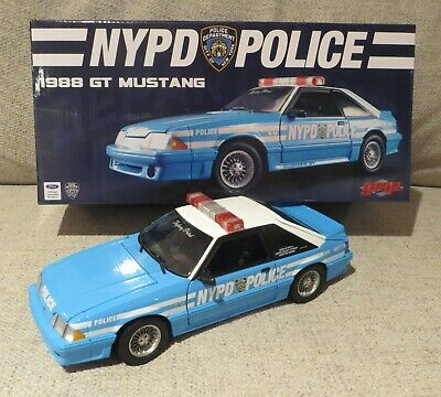 £289.32 • Buy 1988 Ford Mustang GT 5.0 NYPD POLICE CAR NEW YORK CITY  - GMP 1/18 - BRAND NEW