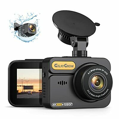 AU189.79 • Buy 4K Dual Dash Cam Front And Rear Built-in GPS GILAYGROW Front 4K/2.5K And Rear...