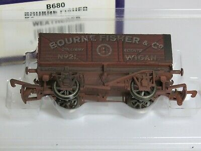 £7.50 • Buy  MINT DAPOL,7 PLANK COAL TRUCK , BOURNE FISHER &CO , WIGAN (weathered)