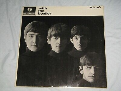 £9.99 • Buy WITH THE BEATLES By THE BEATLES (1963) Yellow Parlophone LP Album PMC 1206  Mono