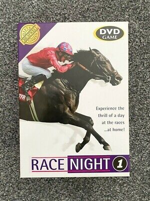 £8.99 • Buy Race Night 1 DVD Game - Horse Racing Night... At Home!!