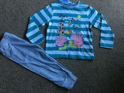 £2.29 • Buy Boys George Pig Pyjamas Top Size 18-24 Months & Pants Size 2 - 3 Years - NEW!