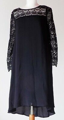 £49.99 • Buy MONSOON  Ladies Black  Size 8 Tagged Brand New  Embroidered Dress.