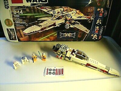 £108.71 • Buy Lego X-Wing Starfighter #9493-Collectible-Complete-Sealed Bags W/some Built 2012