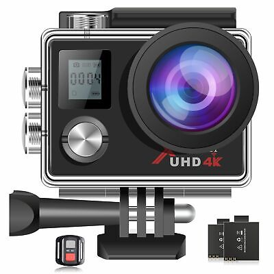 AU55.99 • Buy 4K 16MP WIFI Waterproof Sports Action Cam DVR Recorder Remote Control GoPro