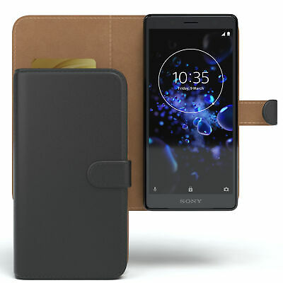 AU10.13 • Buy Case For Sony Xperia XZ2 Compact Phonecase Protective Case Cover Flip Black