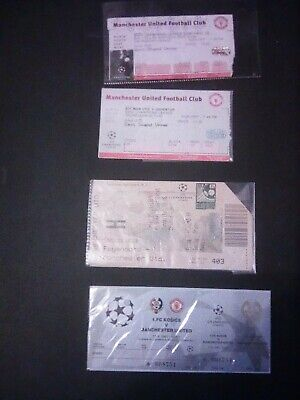 £4.99 • Buy 4 Manchester United Champions League Tickets