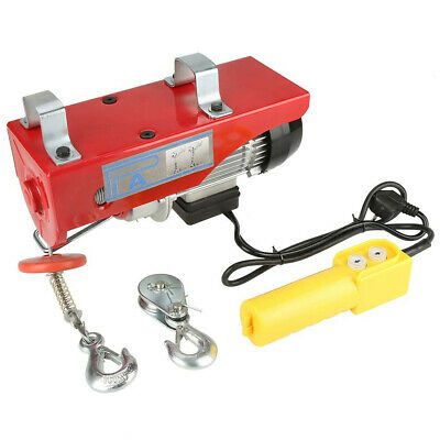 £33 • Buy Electric; Steel Wire Hoist; 100/200KG Load Capacity; 220 V; With Emergency Stop