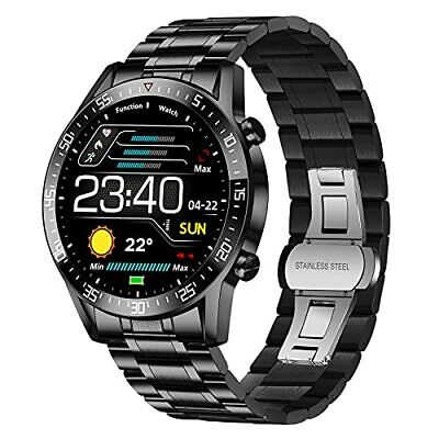 AU64.08 • Buy Smart Watch For Men Fitness Tracker With Heart Rate Sleep Blood Pressure Moni...