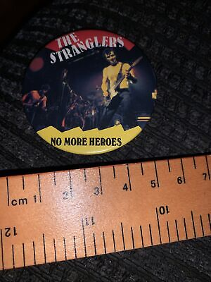 £5 • Buy Vitage Button Badge The Stranglers, No More Heroes
