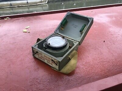 £70 • Buy Ships Compass, 1944 With Its Detailed History Ww2 World War 2