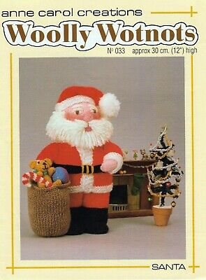 £1.90 • Buy Toydoll Knitting Pattern Father Christmas/ Sack Colour Printed On Heavy Paper