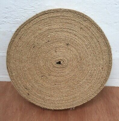 """£13.99 • Buy 33 Metre Roll Of 12lb 2"""" Wide Quality Jute Webbing For Upholstery Use"""