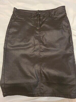 £5 • Buy Next Leather Look Skirt