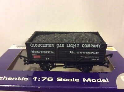 £9.99 • Buy DAPOL GLOUCESTER GAS LIGHT CO 7 PLANK COAL WAGON 37 & LOAD LIMITED EDITION Nv