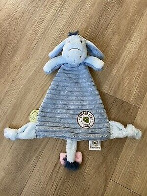 £9 • Buy Disney Classic Winnie The Pooh Eeyore Baby Comforter Soft Cuddle Toy Soother