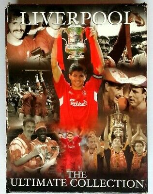 £21.99 • Buy Liverpool (7 DVD Box Set) The Ultimate FA Cup Collection