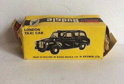 £7 • Buy Die Cast Models By Budgie, London Taxi Cab