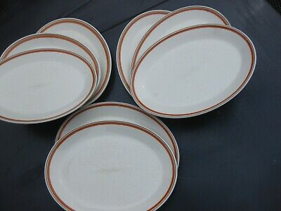 £20 • Buy Oval Dinner Plates Eight  Lovely..... Ex Hotel , Little If Any Use. Beautiful Pl