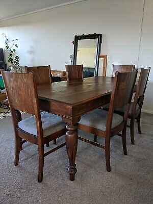 AU500 • Buy Beautiful Solid Wood Dining Table And Chairs