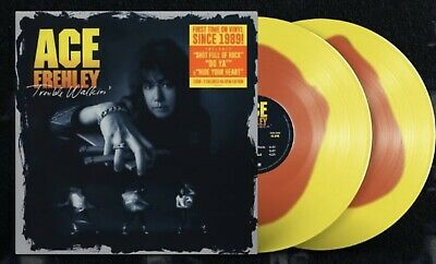 £36.30 • Buy Ace Frehley Trouble Walkin Colored 2 Lp 45 Rpm Vinyl Edition Kiss Sold Out