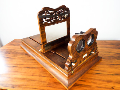 £628.06 • Buy Antique Tabletop Stereoscope Postcard Viewer E & H T Anthony New York Civil War