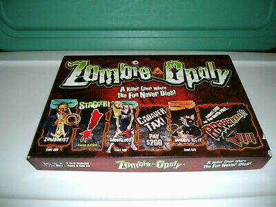 £21.78 • Buy ZOMBIE-OPOLY MONOPOLY Classic Family Board Game -Cool Game-2