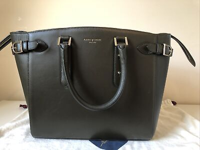 £200 • Buy Beautiful Olive Green Aspinal Of London Bag. Only Lightly Used