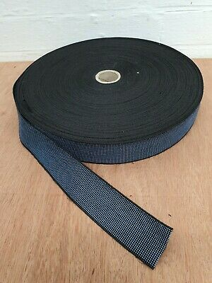 £8.84 • Buy 8m Upholstery Elastic Webbing 30% Stretch 50mm Wide For Sofa Chair Seats