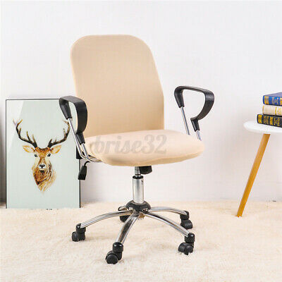 AU11.62 • Buy Office Chair Covers Elastic Computer Chair Cover Stretch Arm Chair Seat Cover ~