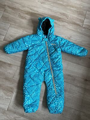 £19.50 • Buy Dare2b Snowsuit / Ski Suit - Boy Or Girl All In One 12-18 Months Dare 2b