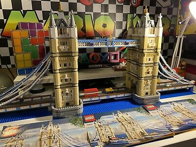 £249.95 • Buy LEGO Tower Bridge (10214) Creator Expert 100% Complete With Instructions No Box