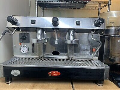 £416 • Buy Commercial Coffee Machine 2 Group With Coffee Grinder