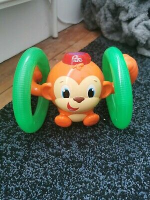 £6.99 • Buy Bright Starts Baby & Toddler Roll And Glow Monkey Toy Crawling Baby
