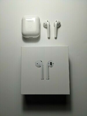 AU93.24 • Buy Apple AirPods W/ Wired / Wireless Charging Case 2nd Generation - Used