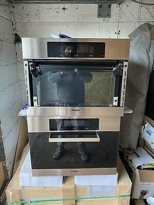 £500 • Buy Miele H4080BM Combi Microwave Grill Oven AND H4080 Steam Oven