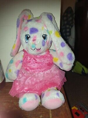 £2 • Buy Build A Bear Spotty Rabbit With Giggle Box And Dress