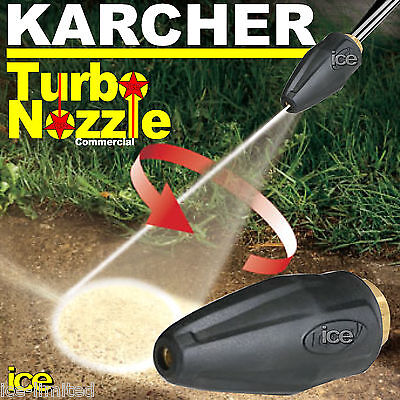 Karcher Commercial Turbo Nozzle Rotary Spinning Oscillating Dirtblaster Hd Hds • 79.99£