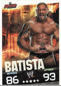 WWE Slam Attax Evolution - Batista Raw Card • 0.99£