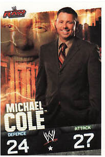 WWE Slam Attax Evolution - Michael Cole Raw Card • 0.99£