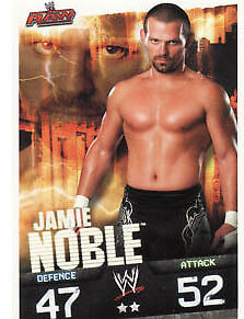 WWE Slam Attax Evolution - Jamie Noble Raw Card • 0.99£