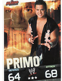 WWE Slam Attax Evolution - Primo Raw Card • 0.99£