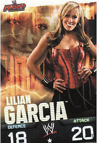 WWE Slam Attax Evolution - Lilian Garcia Raw Card • 0.99£