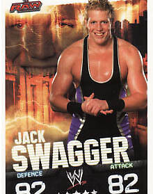 WWE Slam Attax Evolution -Jack Swagger Raw Card • 0.99£