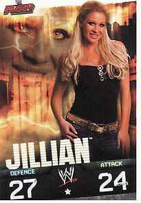 WWE Slam Attax Evolution - Jillian Raw Card • 0.99£