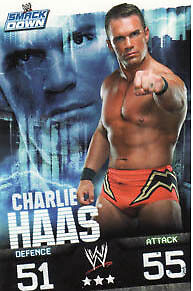 WWE Slam Attax Evolution - Charlie Haas Smackdown Card • 0.99£